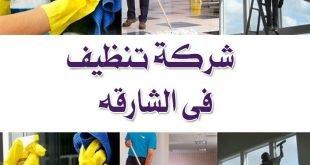 شركة تنظيف الشارقة
